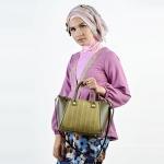 Pilihan-tas-tangan-wanita-tas-jinjing-trendi-tas-selempang-ukuran-kecil-tas-jalan-agen-tas-wanita-produsen-tas-wanita-tas-tangan-pesta-desain-tas-batik-veronica-warna-garis-hijau
